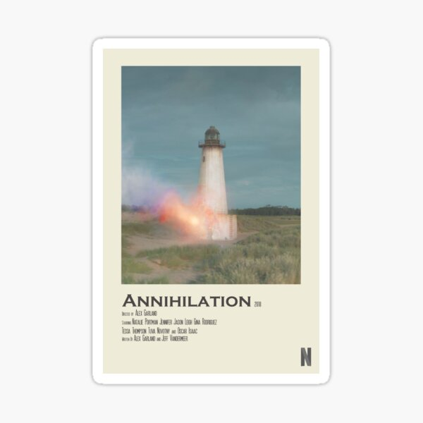 Annihilation Polaroid Poster Sticker