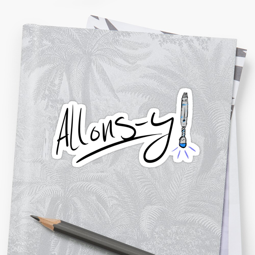 ALLONS-Y by spazzypandizzy