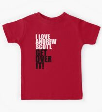 I love Andrew Scott. Get over it! Kids Clothes