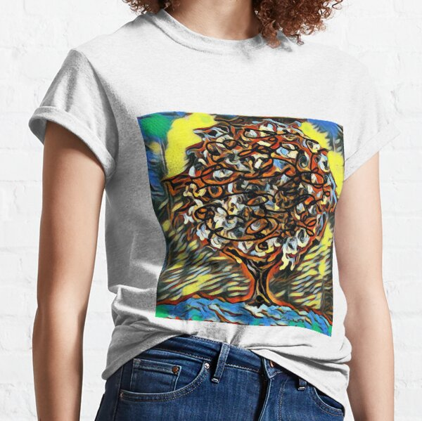 Tree Art 7 designed and created by (c) Janet Watson Art  Classic T-Shirt