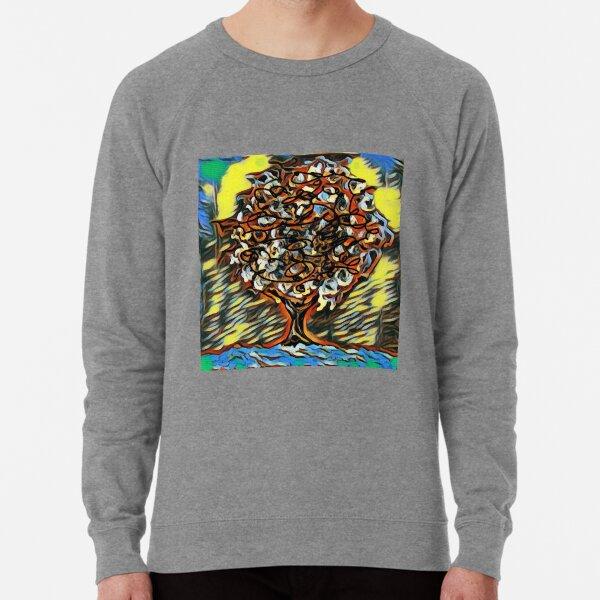 Tree Art 7 designed and created by (c) Janet Watson Art  Lightweight Sweatshirt
