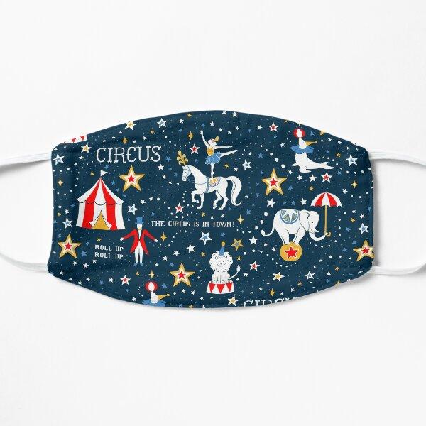 Retro Circus Flat Mask