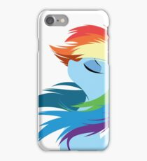Rainbow Dash - FaceEdition iPhone Case/Skin