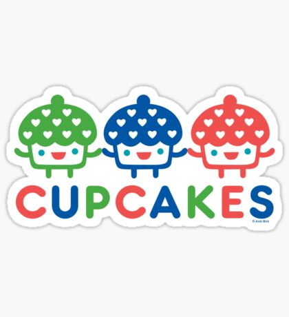 Cupcake Fun primary Sticker