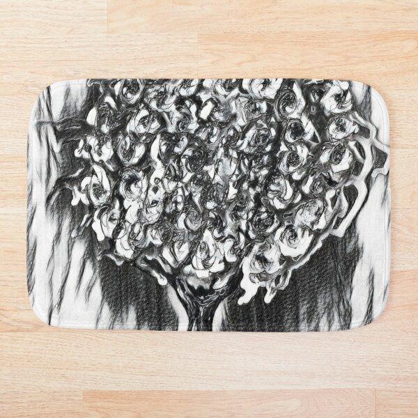 Tree Art 2 designed and created by (c) Janet Watson Art  Bath Mat