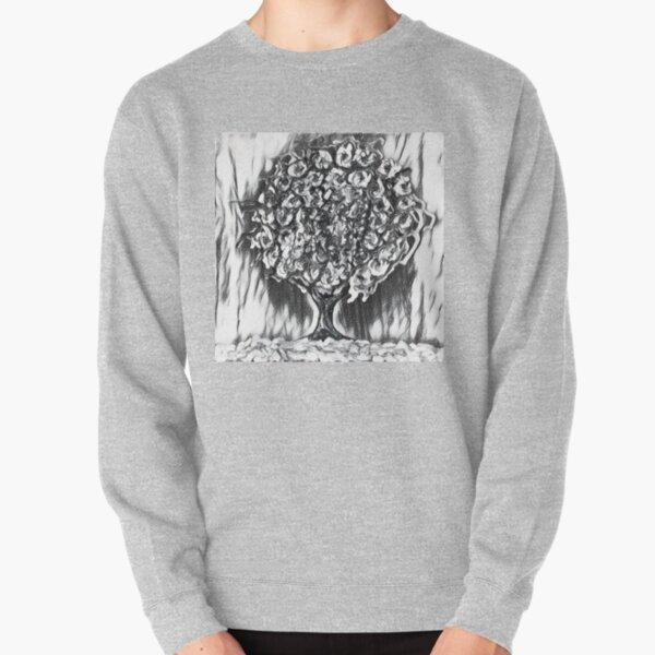 Tree Art 2 designed and created by (c) Janet Watson Art  Pullover Sweatshirt