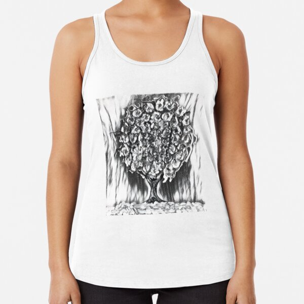 Tree Art 2 designed and created by (c) Janet Watson Art  Racerback Tank Top