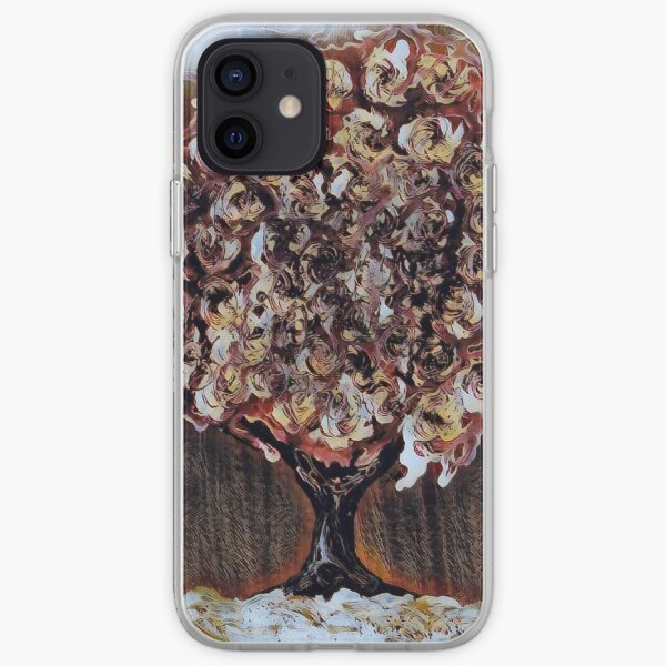 Tree Art 1 designed and created by Janet Watson Art  iPhone Soft Case