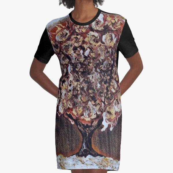 Tree Art 1 designed and created by Janet Watson Art  Graphic T-Shirt Dress