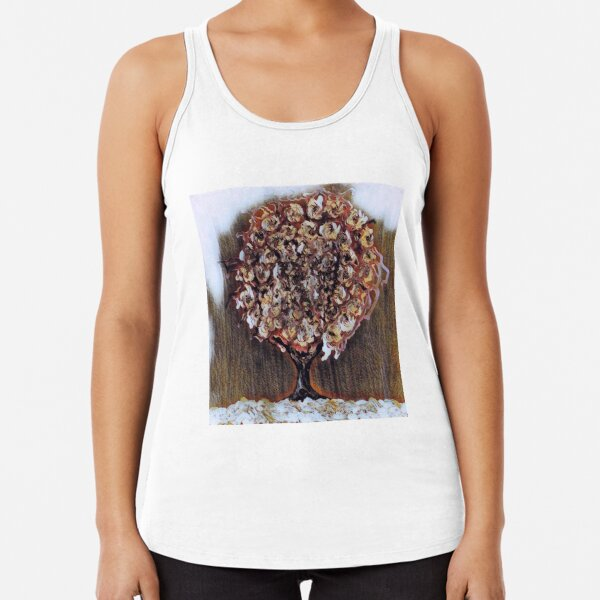Tree Art 1 designed and created by Janet Watson Art  Racerback Tank Top