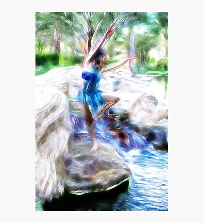 Dancing on the Rocks Photographic Print