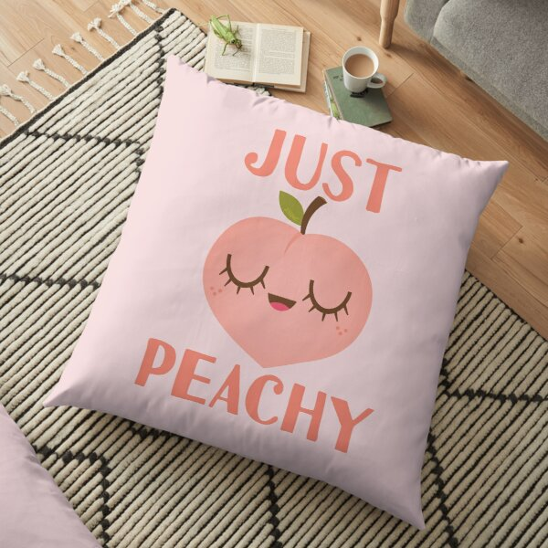 Just Peachy Floor Pillow