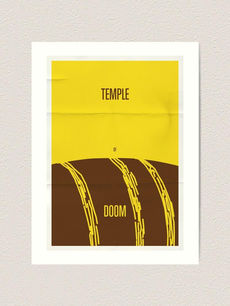 Alternate view of Temple Art Print