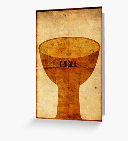 Crusade (aged) Greeting Card