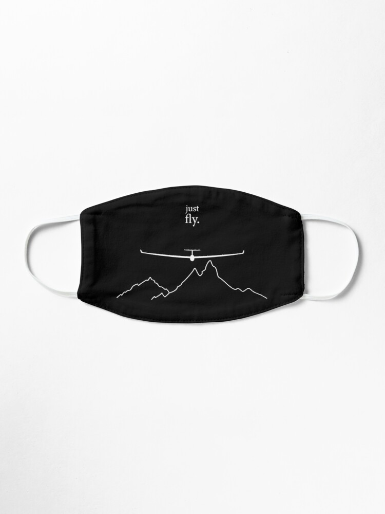 Alternate view of Just Fly By Glinder Design Mask