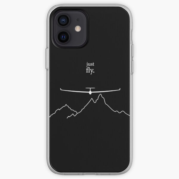 Just Fly By Glinder Design iPhone Soft Case