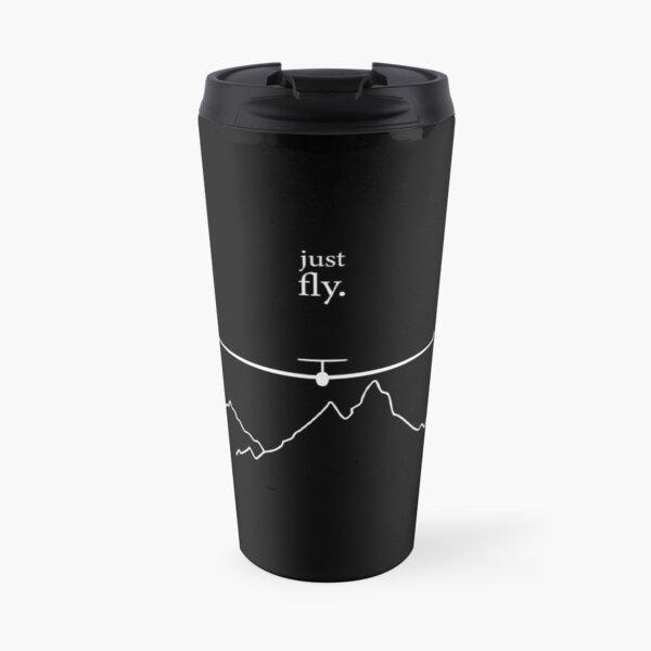 Just Fly By Glinder Design Travel Mug