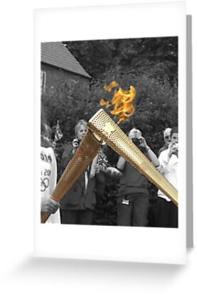 Olympic Torch 'Kiss' by TesniJade