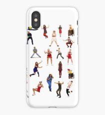 glee dodgeball iPhone Case/Skin