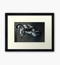 Lambretta Scooter Isle of Man Framed Print