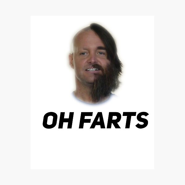 Oh farts. The Last Man On Earth Photographic Print