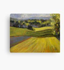 Verdant Hills Canvas Print