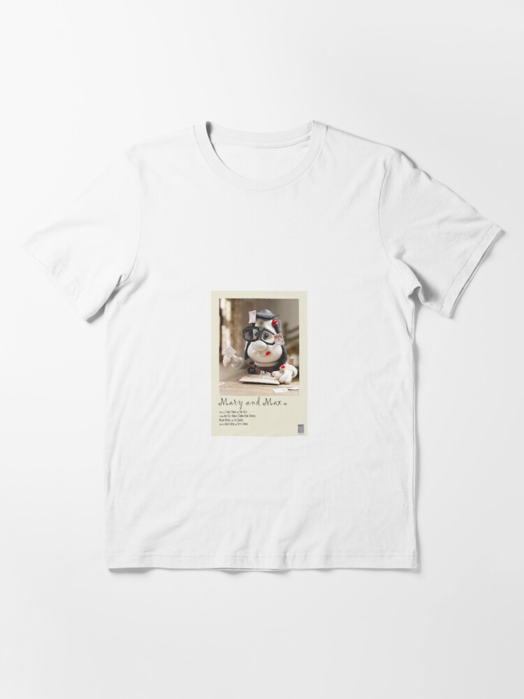 Mary And Max Polaroid Film Poster T Shirt By Turbomonkey02 Redbubble