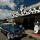 Classic Car, Moo Moo Cafe, Mooball, Australia 2008 by muz2142