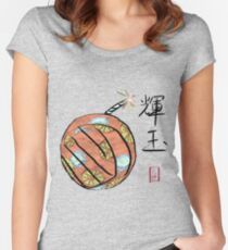Amaterasu's Cherry Bomb Women's Fitted Scoop T-Shirt