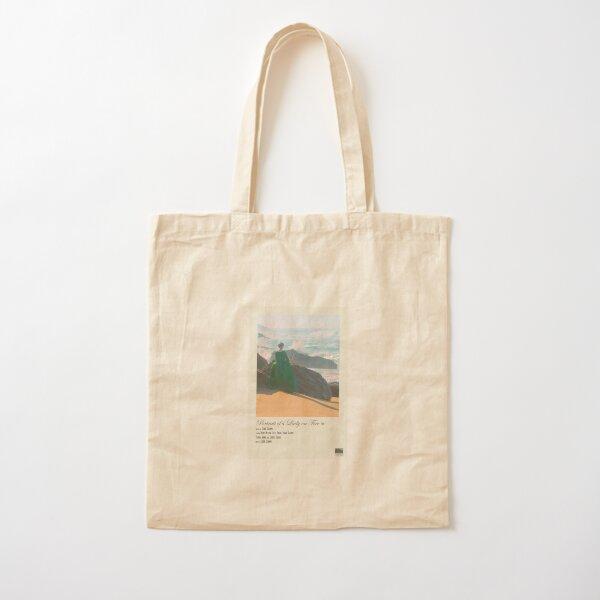 Portrait d'une dame en feu Polaroid Film Poster Tote bag classique