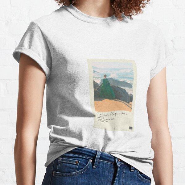 Retrato de un cartel de la película Polaroid Lady on Fire Camiseta clásica