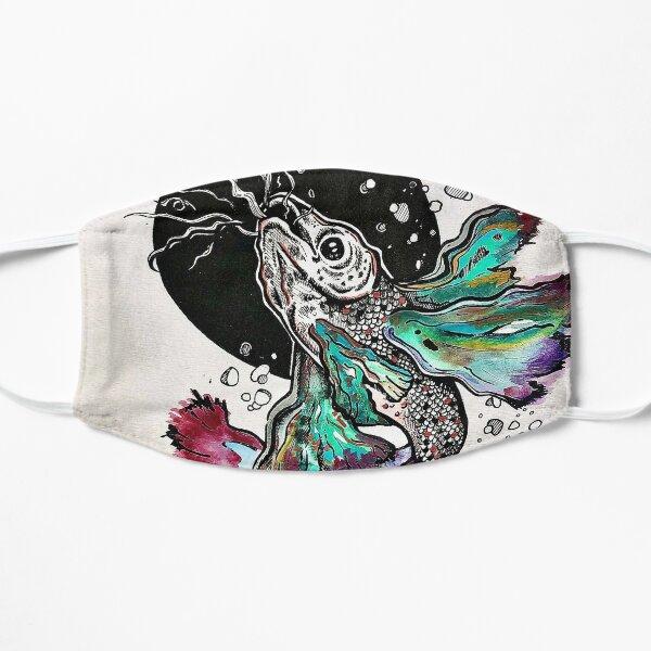 Rainbow beta explosion  Flat Mask