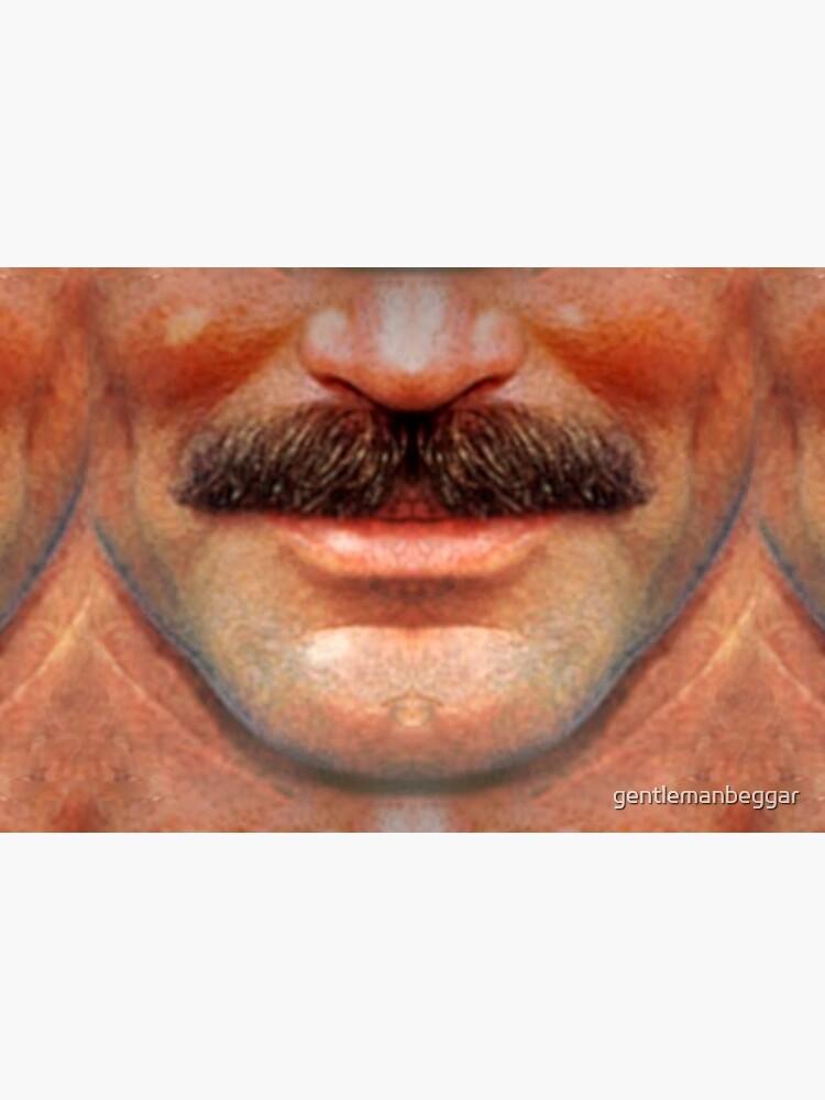 Moustache Art: The Tom by gentlemanbeggar