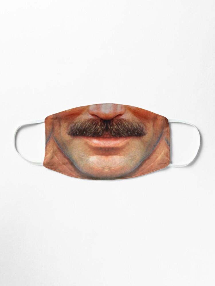 Alternate view of Moustache Art: The Tom Mask