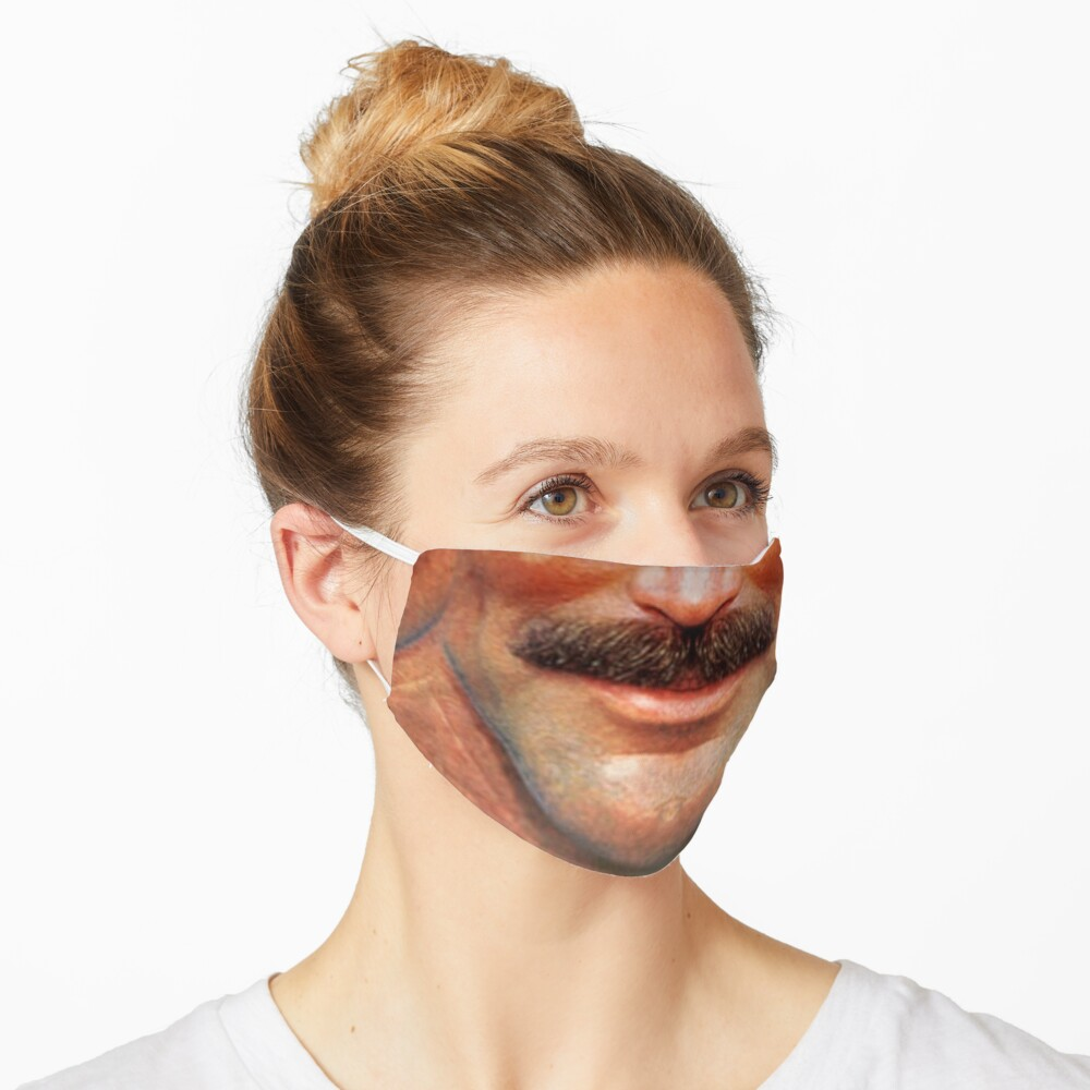 Moustache Art: The Tom Mask