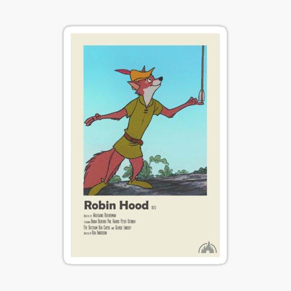 Robin Hood Polaroid Film Poster Sticker