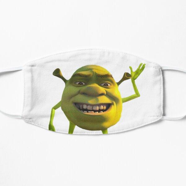 Shrek Wazowski Mascarilla plana