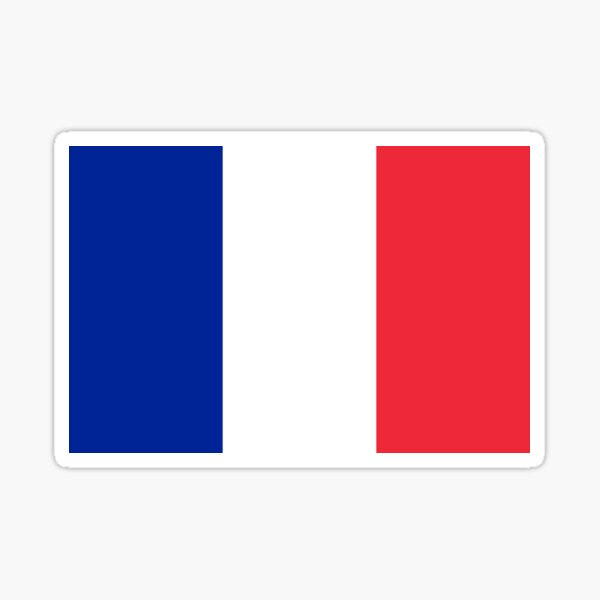 French Flag - France T-Shirt Sticker