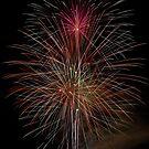 Black Mountain Fireworks by Tim Devine