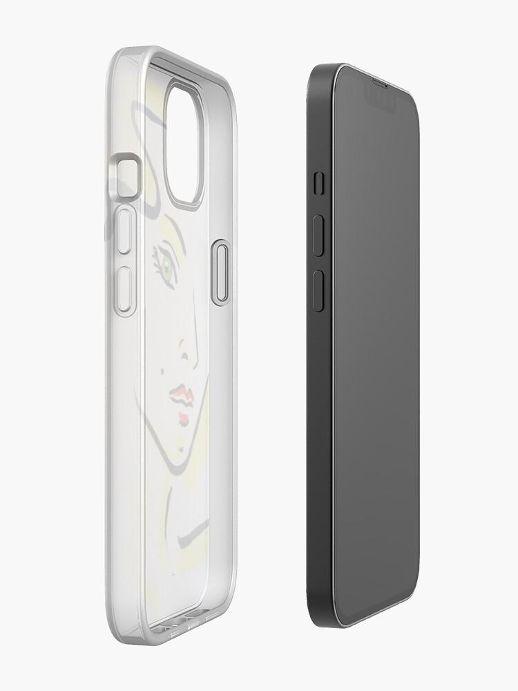 Alternative Ansicht von Face No. 1 iPhone-Hülle