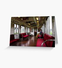 The Train Ride Greeting Card