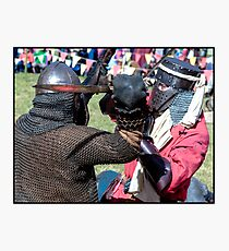 Abbey Medieval Festival 13 Photographic Print