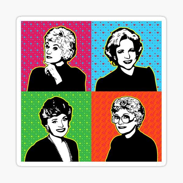 Golden Girls | Pop Art Sticker