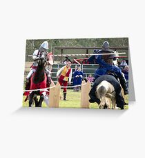 Abbey Medieval Festival 15 Greeting Card