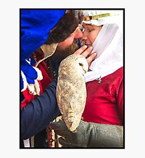 Abbey Medieval Festival  17 Photographic Print