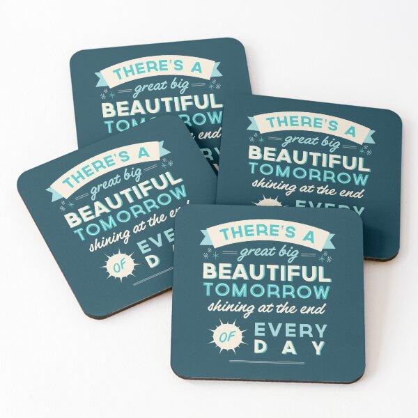 Beautiful Tomorrow Coasters (Set of 4)