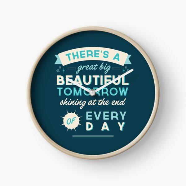 Beautiful Tomorrow Clock