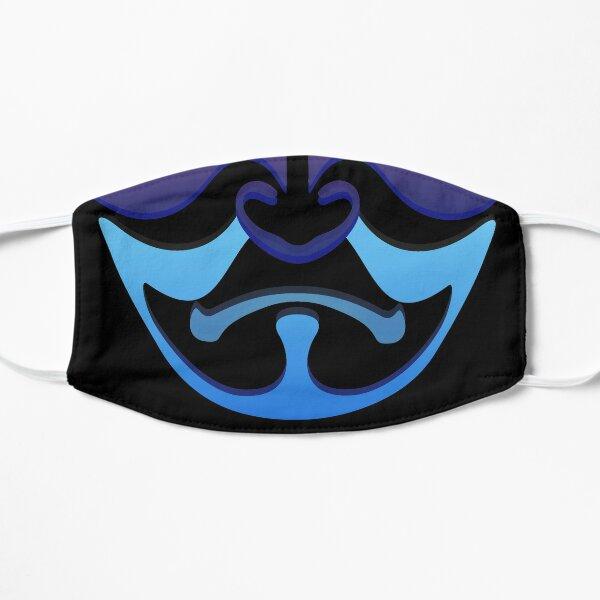 Japanese kabuki mask Flat Mask
