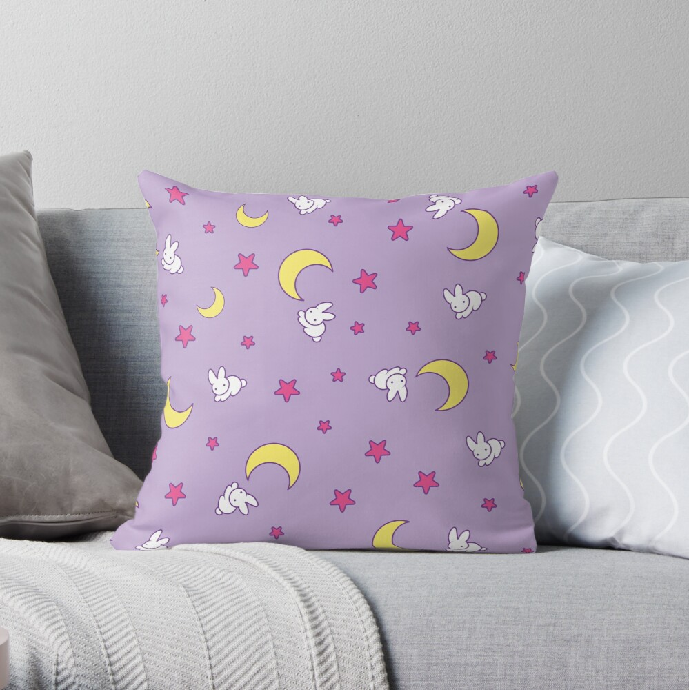 Usagi Blanket Throw Pillow