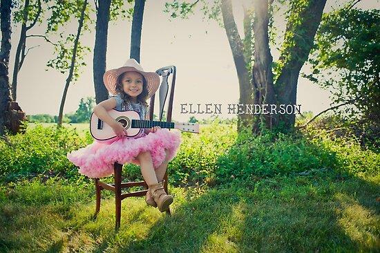 Gracie the rock n roll cowgirl :) by eelsblueEllen